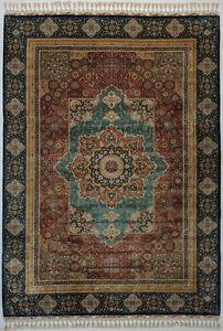 Mamluk 5 x 8 feet Red Traditional Rug 400 KPSI Fine Craftsmanship & Elegance