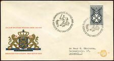 Netherlands 1965 Military William Order FDC First Day Cover #C27210