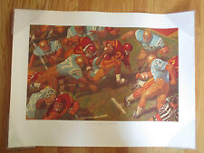 1968 O.J. SIMPSON Runs for Daylight - The Modern Game USC TROJANS vs UCLA Poster