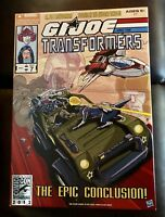 NEW SDCC 2013 Exclusive HASBRO G.I.JOE TRANSFORMERS Jetfire Hound Snake Eyes G1