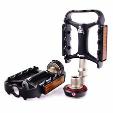 "Wellgo QRD-II M111 Lightweigh 9/16"" Quick Released Road MTB Pedal Black s"