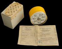 NEW! Rare Vintage TIMER ZIM Soviet Russian vintage CLOCK made USSR