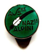 Distintivo Associazione Nazionale Alpini In Argento 800 cm 1,4