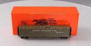 Precision Scale Company 17676-1 BRASS HO Pullman Troop Kitchen Car #115 LN/Box