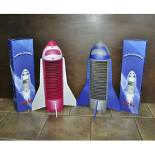 Rocket CD Towers - Holds 24 CDs - Your Choice of Blue or Pink Rocket