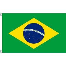 Brazil Large Flag 8Ft X 5Ft Brazilian Country Banner Olympics Football