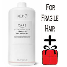 Keune Care Keratin Smoothing Cleansing Shampoo 1000ml / 33.8 oz For Fragile Hair