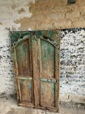 More details for vintage wooden shutters or doors  window   indian hard wood 127x72 cm free post