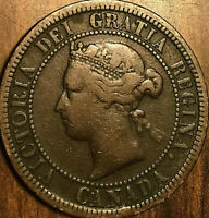1881H CANADA LARGE CENT PENNY LARGE 1 CENT - Dp N