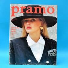 DDR Pramo 12/1989 Praktische Mode Schnittmuster Kleider Blusen Röcke Puppen U