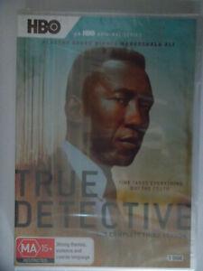 TRU DETECTIVE SEASON 3  / 3 X DVDS , 2019 , SEALED