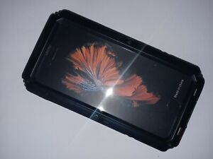 Waterproof Case For iPhone A new generation of waterproof metal mobile.Black.