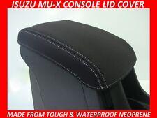 ISUZU MU-X NEOPRENE  CONSOLE LID COVER (WETSUIT MATERIAL) NOV 13 - CURRENT