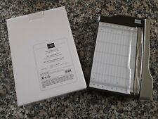 Stampin up ✿ Mini Papierschneidemaschine NEU ✿ Schneidbrett Papierschneider RAR
