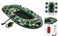 3 Person Inflatable Kayak Boat Canoe - 9FT Raft Inflatable Kayak with Air