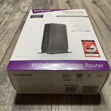 BRAND NEW NETGEAR N600 (8x4) WiFi Cable Modem Router  C3700