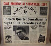 Dave Brubeck - At Storyville: 1954 - Mono Press - VINYL LP