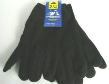 Wells Lamont Mens Large COLD WEATHER JERSEY GLOVES Fleece Lined Work Easy On Off