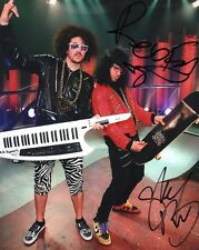 LMFAO Redfoo & Skyblu Party Rock Group Signed 8x10 Photo Autographed COA