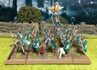 Well Painted Elf Bowmen Unit - Mantic Kings of War #1