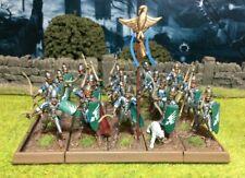 Well Painted Elf Bowmen Unit - Mantic Kings of War #1