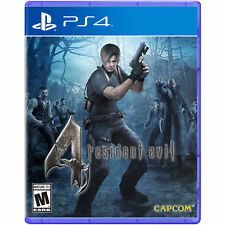 Resident Evil 4 Videogame For Sony PS4 Games Console Sealed New Uk