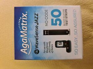 WaveSense JAZZ Test Strips - 50 Pack