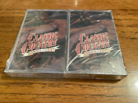 """Time Life """"Classic Country"""" SEALED Cassette Tapes 1950-1959"""
