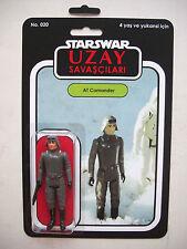 Retro Star Wars Comandante Atat Uzay savascilari Custom Bootleg MOC