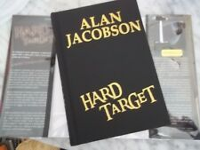 Hard Target by Alan Jacobson Signed First Edition!