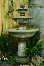 ALMERIA WATER FEATURE AMAZING WATER DROP OUTDOOR FOUNTAIN NEW FAST DELIVERY