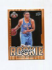 Russell Westbrook 2008-09 Upper Deck MVP RC #204  carte NBA Basketball