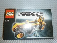 LEGO® Technic Bauanleitung 8271 Wheel Loader instruction BA ungelocht