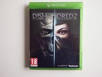 Dishonored 2 on Xbox One in MINT condition (Unused DLC)