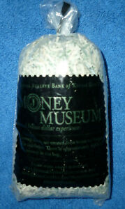 NEW Federal Reserve Bank of Kansas City Money Museum Shredded Approx $165 in Bag