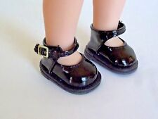 """Black Mary Jane Dress Shoes Fits Wellie Wishers 14.5"""" American Girl Clothes"""