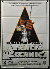 Clockwork Orange R-1970'S Orig. 39X55 Italian Movie Poster Malcolm McDowell