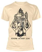 "Death ""Scream BLOODY Gore Diamond"" (naturale) T-Shirt-ultrakult Clothing"