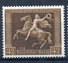 GERMANY 3rd REICH 1938 5th BROWN RIBBON AT MUNICH SCOTT B119 PERFECT MNH