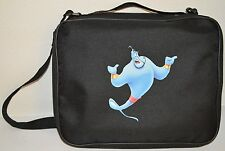 FOR DISNEY PIN BAG TRADING BOOK BLACK PINS GENIE ALADDIN  CASE