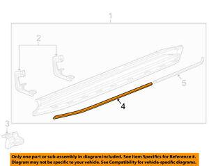 GM OEM Running Board Step-Insert Left 22813724