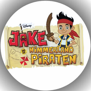 Tortenaufleger Tortenbild Fondant - Oblate Jake und die nimmerland Piraten P4
