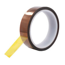 "6PK High Temp Polyimide Kapton Powder Coating Electrical Masking Tape Size 1"""