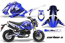 Honda GROM 125 Graphic Kit AMR Racing Bike Decal Motorcycle Parts 13-16 CARBON U