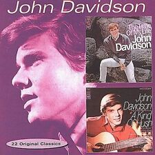 John Davidson- 22 Original Classics cd, used like new, 60s pop