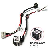 DC POWER JACK Dell Inspiron 15-3521 15-3537 15R-5521 15R-5537 M531R YF81X 0YF81X