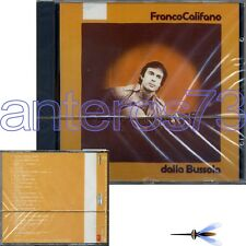 "FRANCO CALIFANO ""DALLA BUSSOLA"" RARO CD 1a STAMPA 1988 MADE IN FRANCE"