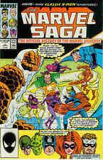 MARVEL SAGA # 17 (Steve belli, Jack Kirby, Gil Kane) (USA, 1987)