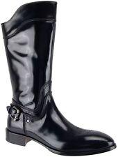 $1200 Authentic Cesare Paciotti Tall Boots US 9.5 Italian Designer Mens Shoes