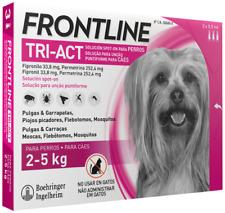 Frontline TRI-ACT Cani 2 /5 kg [ 3 pipette scadenza 04 / 2020 ]